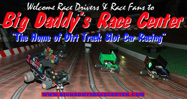 Welcome to Dig Daddy's Race Center